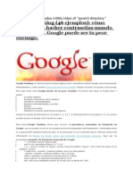 Hackear Google