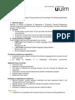 A Entry Requirements EST
