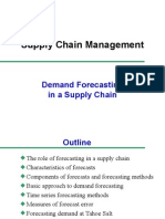 8.Demand Forecasting in a Supply Chain
