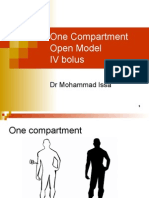 02_One Compartment IV Bolus