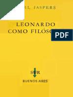 Jaspers Karl - Leonardo Como Filosofo
