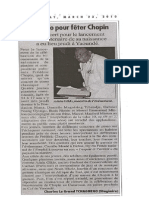 Recital CHOPIN Lauréat AGUIMUCLA