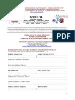 ACURIL XL Inscripción Hotel (03-10)