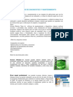 Software de Diagnostico y Mantenimiento