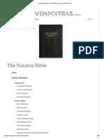 The Nutanix Bible