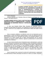Acuerdo 005-2010_lineamientos Sspypc