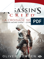 Assassin's Creed - Tome 03 - La Croisade Secrete - Oliver Bowden