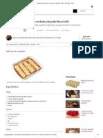 Canelone Tricolor Tem Recheio de Palmito e Tofu - Receitas - GNT