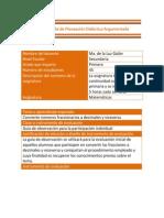 Guía de observación para participación individual