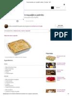 Torta de Bacalhau Com Requeijão e Palmito - Receitas - GNT