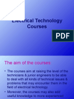 Electrical Technology Courses