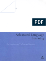 [Heidi Byrnes] Advanced Language Learning the Con
