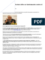Noticia- Vargas Llosa