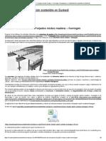 Cálculo de Estructuras_ Forjados Mixtos Madera – Hormigón _ Arquitectura y Rehabilitación Sostenible en Euskadi