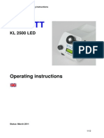 Manual Kl 2500 Led Mar 11 English