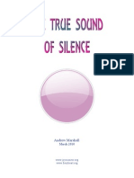 The True Sound of Silence