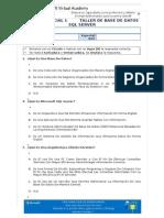 Examen Parcial I - Teórico