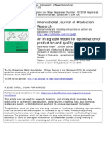 -An Integrated Model for Optimization of Production and Quality Cost