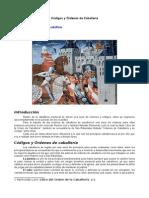 Códigos y Órdenes de Caballería.docx