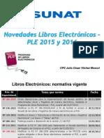 23 01 2015 Modificación Tributaria Libros Electrónicos