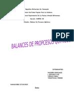 balance de procesos (UNEFA)