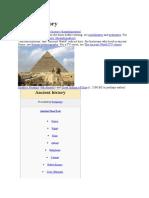 Ancient History Week 1
