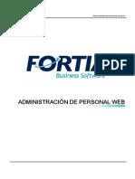 Manual FORTIA Administración de Personal Ver 469