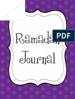 Kids Ramadan Journal Purple Dot