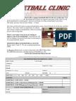 Basketball Clinic Registration 2010