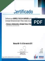 ENAF - Certificado
