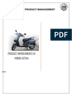 Activa Product Improvements