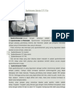 Makalah Spektrofotometri Uv 2