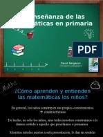 La Enseñanza de Las Matematicas en Primaria - Español Prest