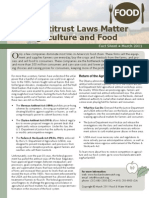 Why Antitrust Laws Matter for Agriculture and Food