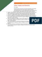 Economics (Definition List)