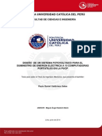 Valdiviezo Paulo Diseño Sistema Fotovoltaico Energia Electrica Pucp