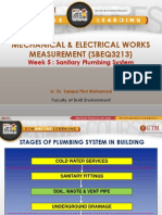 Sanitary Plumbing Systemmeasurement