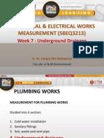 7 Underground Drainage Measurement