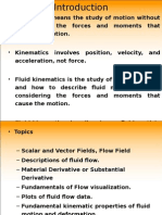 Fluid Kinematics