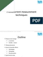 Photocurrent Measurements Pellinger