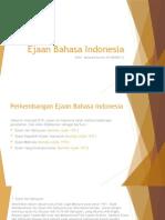 presesntasi ejaan Indonesia
