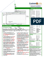 Excel Cheat Sheet