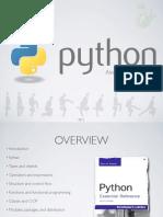 A tour of Python