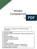 Vendor Compliance