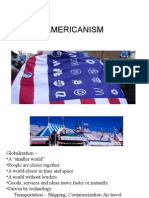 Americanism the concept