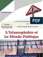 L'Islamophobie et Le Monde Politique