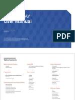 [UD46D P] Manual