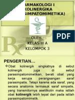 Kolinergika Farmakologi I