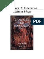 William Blake - Cantares de Inocencia