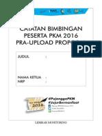 Catatan Bimbingan PKMP